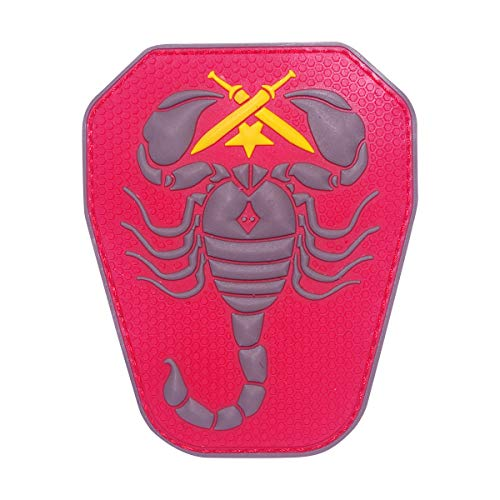 Cobra Tactical Solutions 43 Skorpion/Scorpion Unit US Army PVC Patch Rot mit Klettverschluss für Airsoft Paintball