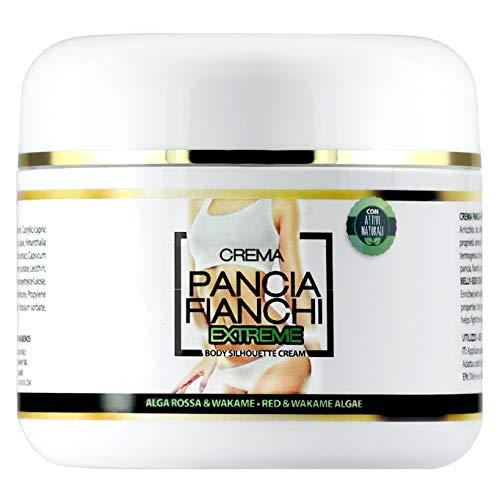 Crema Pancia & Fianchi Extreme dimagrante e snellente con Alga Rossa e Alga Wakame, 250 ml...