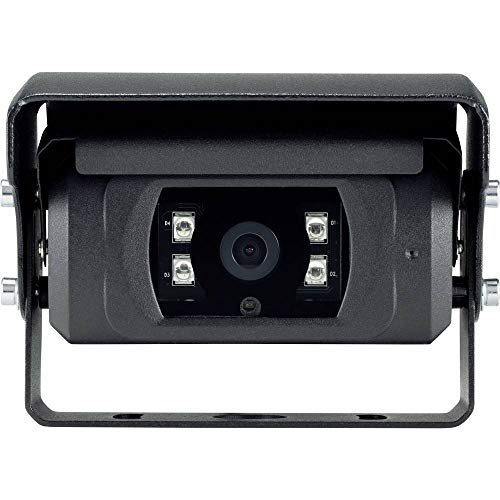 Basetech Kabel-Rückfahrkamera Shutter, Automatischer Weißabgleich, Blendenautomatik, IR-Zusatzlicht, integriertes Mikro