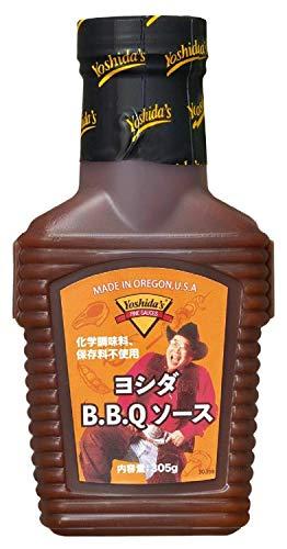 ヨシダフーズ BBQソース ハーフボトル 305g×2本