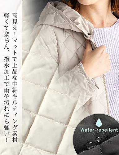 スィートマミー『超軽量撥水キルティングママコート産前産後兼用』