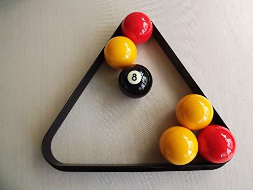 Powerglide Dreieck Billard und Pool Kunststoff alle Größen erhältlich RRP £9 schwarz schwarz 1 7/8