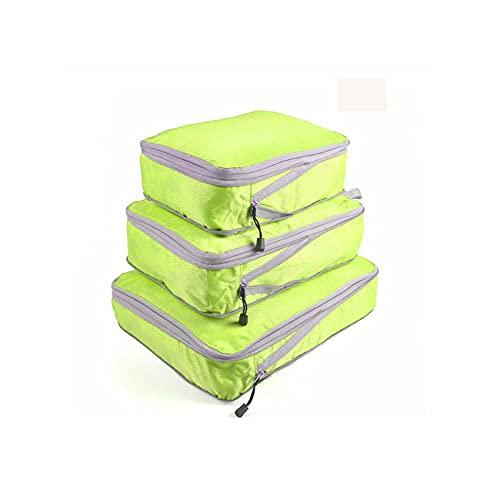 Set De Organizador De Equipaje Viaje, Impermeable Organizador De Maleta Bolsa con Bolsa De Zapato, Nylon Organizador De Equipaje Bolsas para Ropa Sucia De Viaje (E)