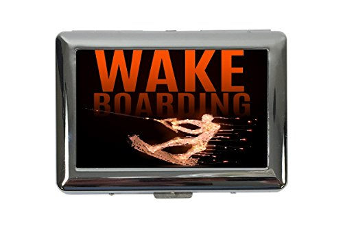 Zigarettenetui Box Sport Wakeboard Bedruckt