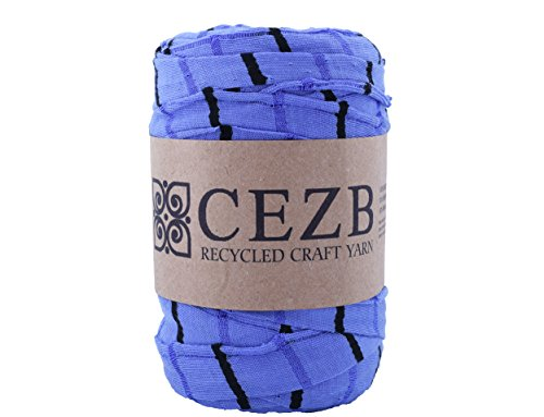 T-Shirt Yarn Bulky Fettuccini Zpagetti Style Elastic Strong Cloth T Shirt Trapillo Yarn Ball for Knitting Sewing Crocheting Bags Bowls DIY Handicraft and Home décor Projects Yarn#177