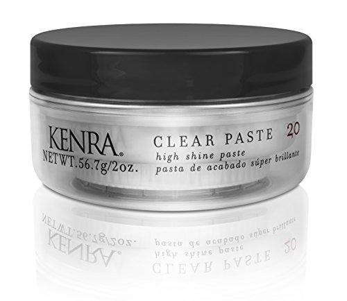 Kenra Pâte stylisante Clear Paste - Haute brillance et tenue flexible - 59 ml (2 oz)