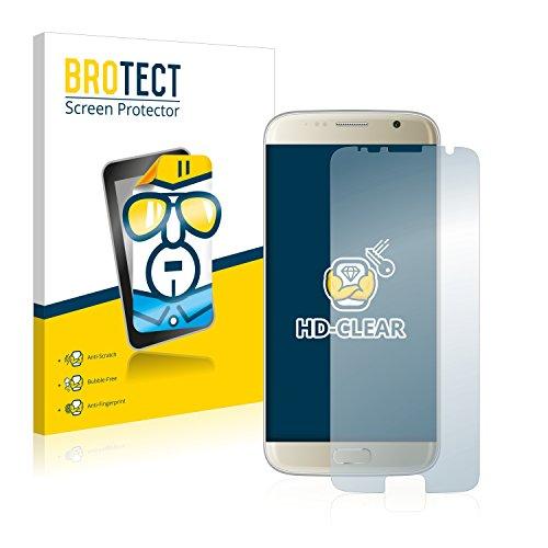BROTECT Schutzfolie kompatibel mit Bluboo Edge (2 Stück) klare Bildschirmschutz-Folie