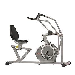 Sunny Health & Fitness Magnetic Recumbent Bike Exercise ...