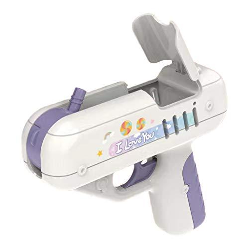 Generic Kids Lolly Gun 3pcs 1.5V AG13 Batterij Aangedreven voor Kinderen Volwassen Leuke Mooie voor Kid - Paars