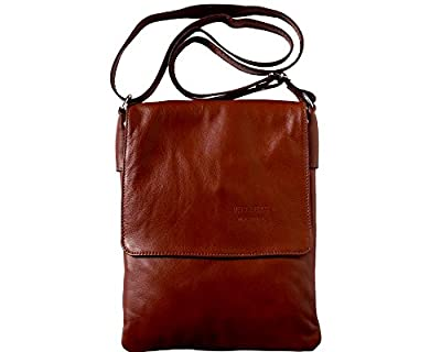 LaGaksta Ashley II Leather Crossbody Bag Brown