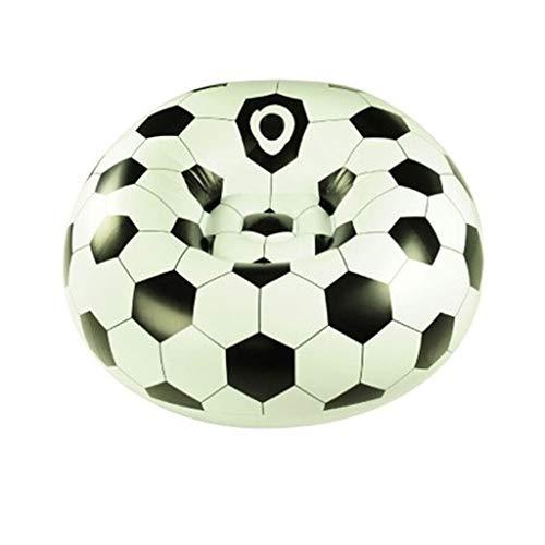 ZLL-Luftmatratze Haushalt Luft Betten Latex Fußball Single Sofa Aufblasbare Liege Single Aufblasbare Mittagspause Stuhl 110x80 cm
