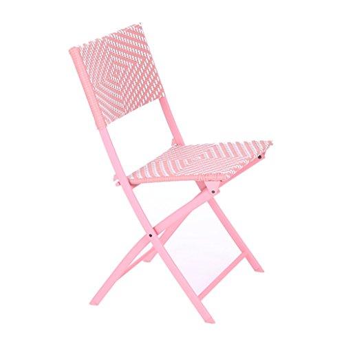 YJchairs stoel opvouwbare stoel draagbare geweven rotan kruk