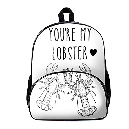Zaino Scuola Borsa Youre My Lobster 18x30x40cm Zaino