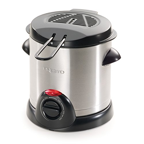 Presto Electric 1qt Deep Fryer - Silver - 05470