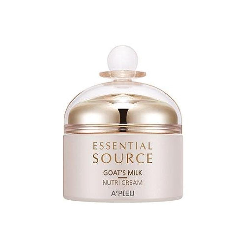 吸収剤置換教会APIEU Essential Source Goat's Milk Nutri Cream [Korean Import]