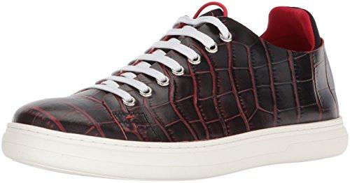 Donald J Pliner Men's Pierce Sneaker, Black, 9 Medium US