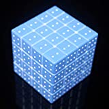 YGFS UV Print Cube Braille Fingerprint Stereo Cuarto Orden 3D Relieveed Personality Cube Rompecabezas Niños