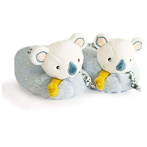 DOUDOU ET COMPAGNIE-Babyschuhe mit rassel 0-6 mois YOCA Koala-0-6 mois-DC3675