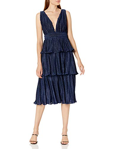 Minuet Dresses for Women Party Evening Cocktail Prom Wedding Guest Party Gown Dresses Tea Lenght Navy