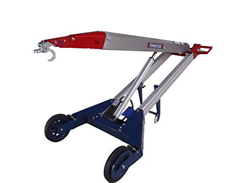 """Makinex PHT-140 Powered Hand Truck, With Hook, 309 lb. Lift Capacity, 18V lithium rechargeable battery, 25 Amp Linear Actuator, 1' To 6' 2"""" Lift Range, 97 lb"""