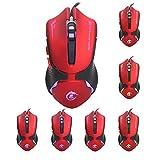Ratones De Juego,Ratón Para Juegos _ Nuevo Y Más Vendido Ratón Brillante Para Juegos Esports Mouse Ebay Amazon Deseo Logotipo Personalizado