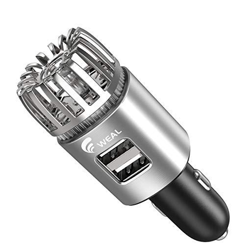 WEAL-Car-Air-Purifier-Ionizer, Car Air Freshener, Plug in