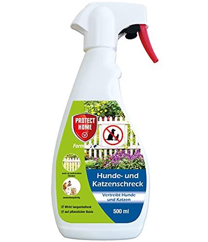 PROTECT HOME Hunde- und Katzenschreck anwendungsfertiges Spray zum Fernhalten von Katzen und zur Hundeabwehr, 500 ml