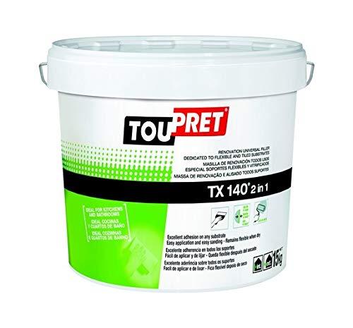 TOUPRET - MASILLA ELASTICA AZULEJOS TX140 1,5 KG