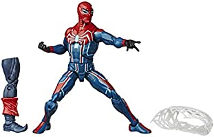 Marvel Legends Series Velocity Suit Spider-Man (Build-A-Figure: Demogoblin)