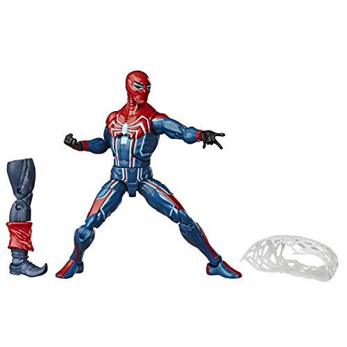 Spiderman-Traje Velocidad Spider_Man Legends Figura Slater, Color (Hasbro E81215X0)