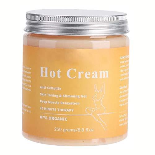 Anti Cellulite, Cellulite Creme, Anti Cellulite, Straffende Crème aktiviert die Haut zur Verbesserung der Hautkontur, Hilfe Bei Orangenhaut und Celluliti - 250G