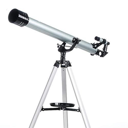 Astronomische telescoop hoge vergroting 675 keer maan krater