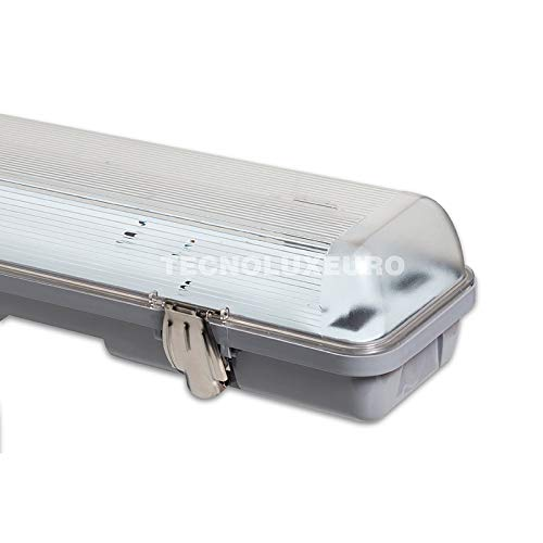 Pantalla Estanca para 2 tubos Doble LED 120cm G13 14328