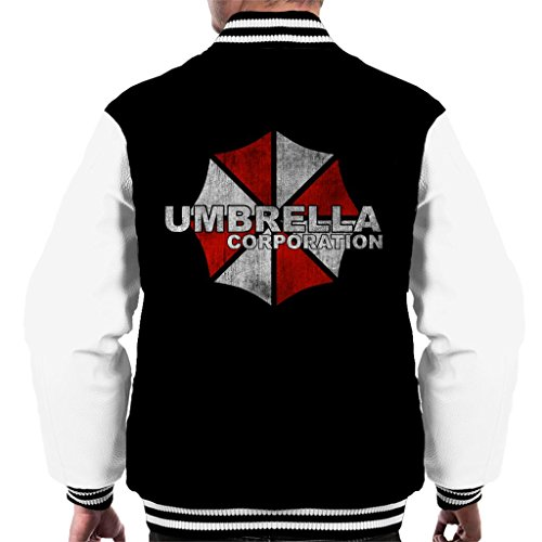 Cloud City 7 Resident Evil Umbrella Corp Logo Men's Varsity Jacket