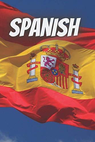 Spanish Notebook: School Notebook fot Spanish Subject