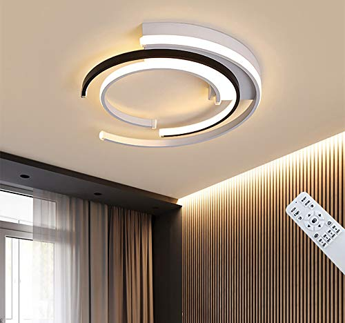 Lámpara de Techo LED Regulable Moderna Diseño Creativo Lámparas de Sala de Estar Comedor Lámpara de Techo Lámparas de Techo de Acrílico Sala de Estar Lámpara Colgante Iluminación de Techo de Oficina