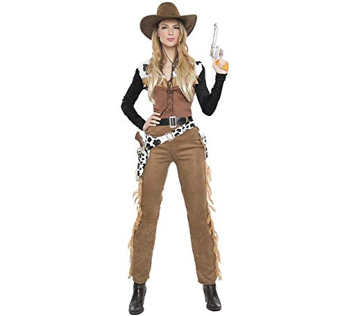 Car&Gus Disfraz de Vaquera Texas para Mujer