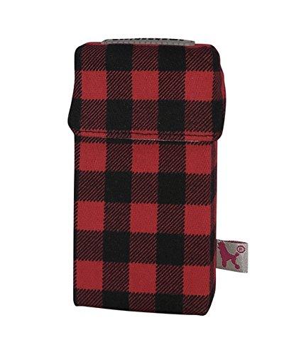 smoke shirt smokeshirt® Zigarettenetui div. Designs Long 100 mm smoke shirt für Zigarettenschachtel in Größe 100 mm, modisch, Elegante, patentiert
