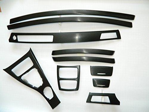 Dekorleisten Interieurleisten Struktur Folien Schwarz passend für BMW E92 E93