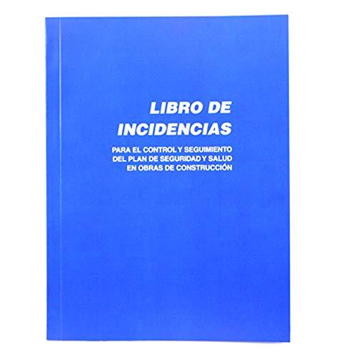 Libro de Incidencias Plan de Seguridad y Salud en Obras de Construcción