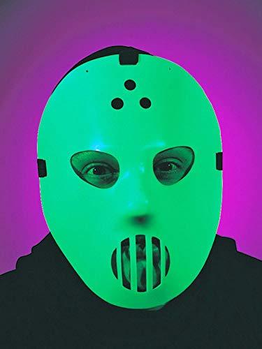 ERFURTH FUN Glow Goalie Maske, Mehrfarbig, Einheitsgröße