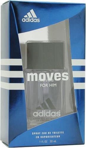 Adidas Moves By Adidas For Men, Eau De Toilette Spray, 1-Ounce Bottle