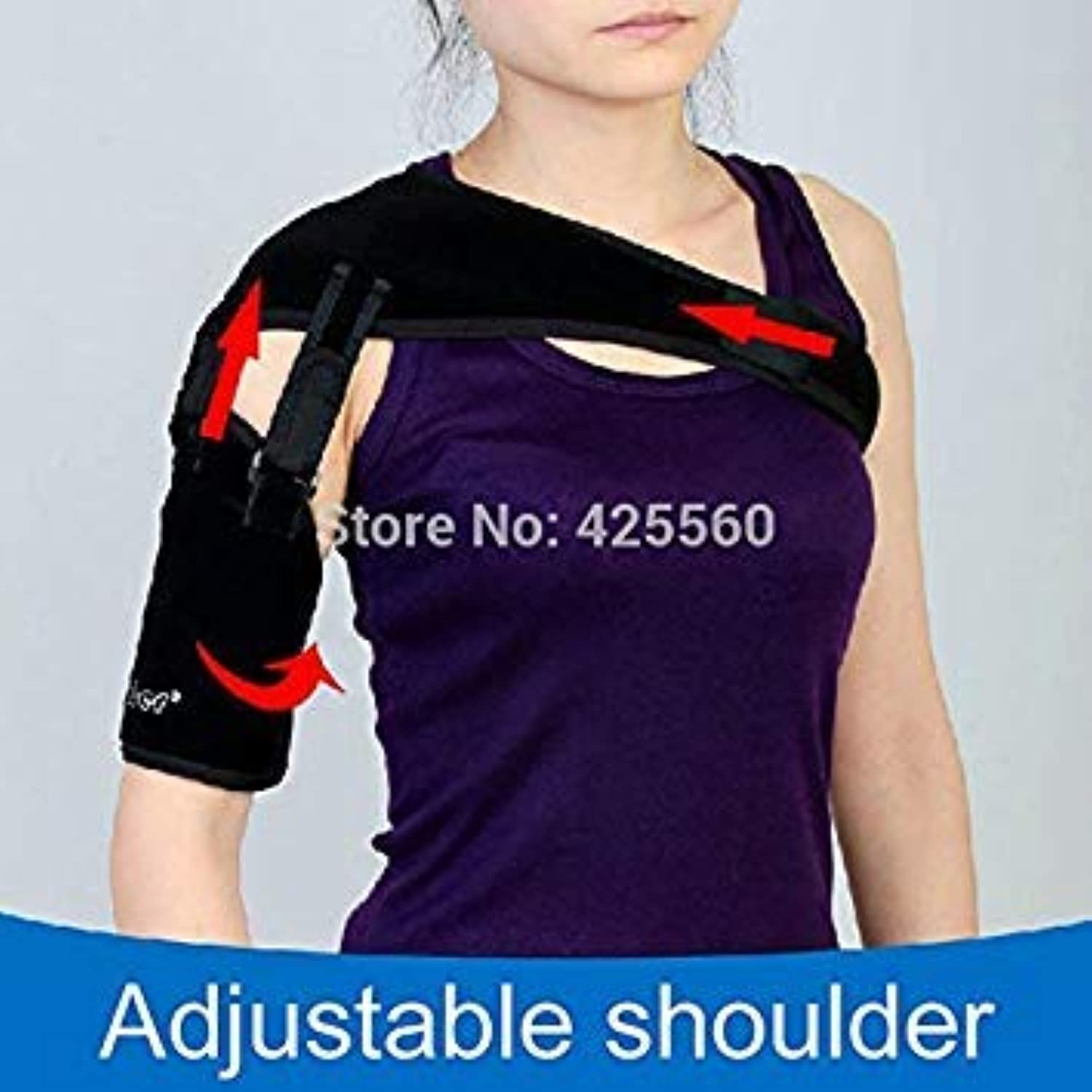 Left Shoulder   Medical Shoulder Support & Brace Strap Orthosis for Sublueeeexation Stroke Hemiplegia Recovery Dislocation