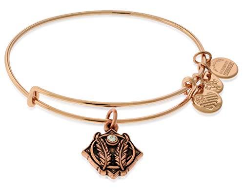 Alex and Ani Women's Godspeed II ROG Bracelet, Shiny Rose Gold, Expandable