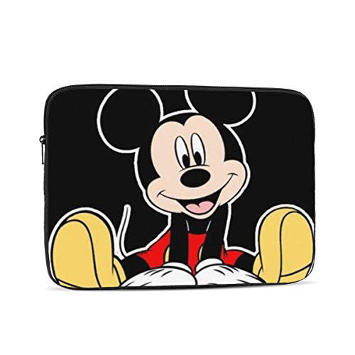 Laptop Sleeve Case- Multi Size Cute Mickey Mouse Notebook Computer Protective Bag Tablet Briefcase Carrying Bag,12 Inch