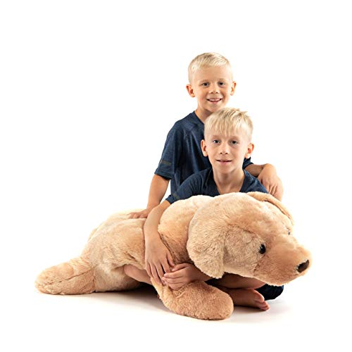 Extra Large Stuffed Dog Hugging Toy-Giant Sleeping Plush...