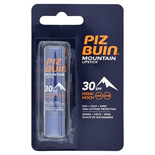 Piz Buin Mountain Lipstick, Lippenpflegestift für Wintersportler, Sonnenschutz für die Lippen, LSF 30, 50 ml