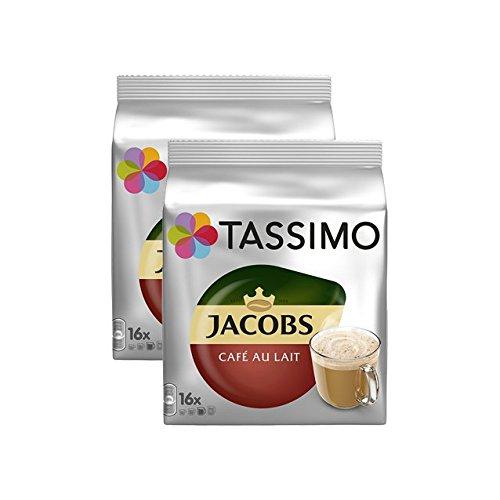 Tassimo JACOBS café au lait classico 2er Pack