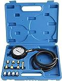 FreeTec, 13 pezzitester di pressione olio del motore, misuratore di pressione olio, 0-35 bar