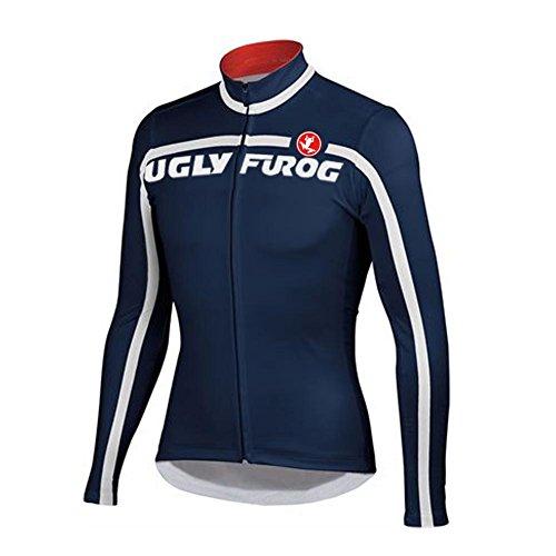 Uglyfrog CXT04 Termico Invernale Uomini Sport all'Aria Aperta Usura Manica Lunga Magliette Ciclismo Maglia Bicicletta Bici Abbigliamento Bici Triathlon Wear